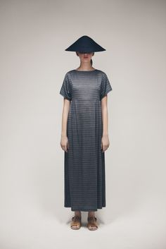 Cone Hat and Raina Dress   Samuji SS15 Classic Collection