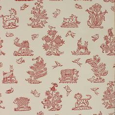 Little beasties wallpaper - not just for a kids room