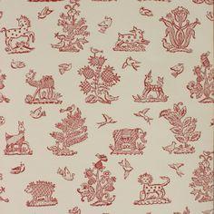Little beasties wallpaper - not just for a kids room