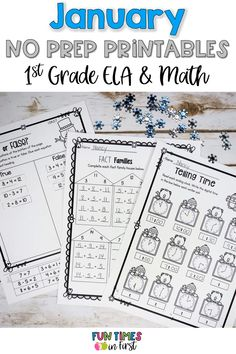 First Grade Math, Grade 1, Second Grade, Reading Skills, Teaching Reading, Learning, Teaching Resources, Teaching Ideas, Printable Worksheets