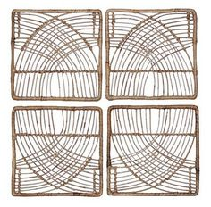 Bohemian Home Decor Style on a Budget at Target :: Chic+Fab+Love | Boho | Bohemian | Home Decor | Style | Wall Art | Macrame | Gallery Walls | 4pc