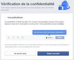 """Comment utiliser l'outil """"Vérification de la confidentialité"""" de Facebook ? [tuto]"""