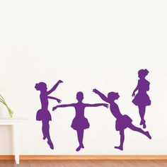"""WALL'S MATTER beautiful kid's dancing Removable Vinyl Wall Sticker Home Decoration Lovely Wall Decals Abstract Wall Art Stickers DIY. Material: vinyl, size: breadth-93cm(36.6""""), height_66cm(26.0""""). Apply the stickers to CLEAN,DUST FREE,SMOOTH SURFACE only.Non-toxic, environmental protection. In the pakage there have a wall sticker ,transfer paper (The yellow paper ) and specification . Easy to Paste the decal without any messy paint and brushes. Easily removable without damaging your…"""