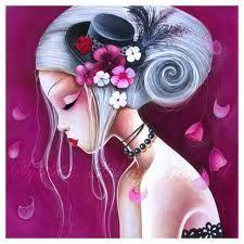 sybile art violet