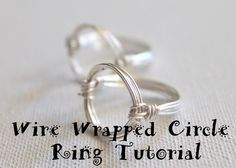 Wire Wrapped Circle Ring Tutorial