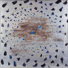 Concetto spaziale, El cielo de Venecia, 1961, de Lucio Fontana.