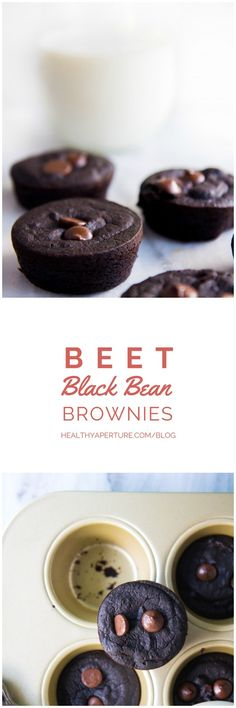 Beet Black Bean Brownies - this dessert packs a nutrient punch and still tastes delicious!