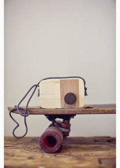 Wooden Toy Camera by April Eleven