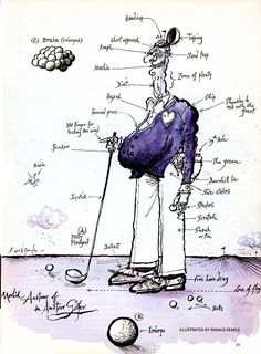 Ronald Searle Tribute: Morbid Anatomies