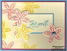 Flower fest pastel flowers watermark