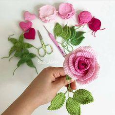 # knitting # knittingmodels # I love knitting # crochet … - Blumen Crochet Butterfly Free Pattern, Crochet Flower Tutorial, Crochet Flower Patterns, Crochet Designs, Crochet Flowers, Knitting Patterns, Crochet Chart, Crochet Motif, Love Knitting