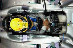 f1 Lewis #Hamilton en su #Mercedes W04