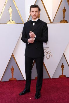 Presenter #TomHolland in #Hermes at the 2018 #AcademyAwards. #Oscars