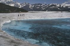 Half-Day Glacier Hikes with Kennicott Wilderness Guides