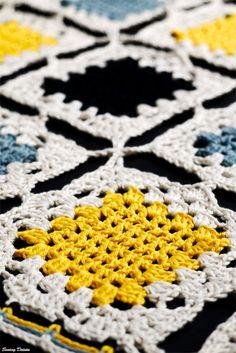 Crochet: Yellow Brick Blanket