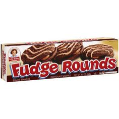 little debbie fudge rounds | Little Debbie Snacks Fudge Rounds, 8ct: Snacks, Cookies & Chips ...
