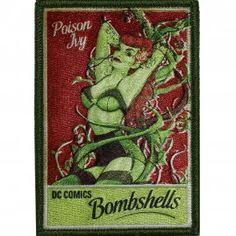 Official Dc Comics Batman Poison Ivy Super Villain Iron on Embroidered Patch