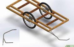 Cómo hacer un remolque para bicicletas: 6 pasos