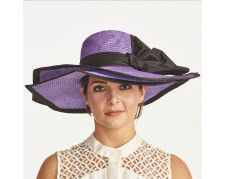 3f3bc74948b Christine A. Moore Squares - Parisisol Big Brim Hat Derby Hats For Sale