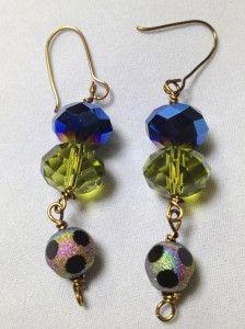 The Peacock Earrings
