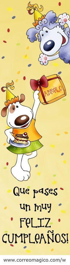 Imagenes de Cumpleaños para descargar y enviar por whatsapp, facebook, twitter, email - Correomagico