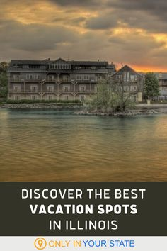 These year round vacation spots in Illinois offer everything from RV camping to water parks, hiking, biking, nature trails, events, outdoor activities, boating, restaurants, vineyards, live entertainment, and more. Enjoy a summer, fall, or winter weekend or a longer local getaway with family and friends. Family Weekend, Family Trips, Best Vacation Spots, Best Vacations, Travel Hacks, Travel Ideas, Us Travel, Family Travel, Water Parks