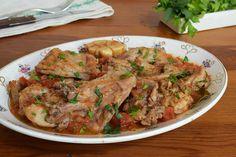Te explicamos paso a paso, de manera sencilla, la elaboración de la receta de conejo estofado al estilo de Isquia. Ingredientes, tiempo de elaboración… Risotto, Japchae, Beef, Chicken, Ethnic Recipes, Food, Pasta, Gastronomia, Salads