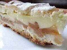 Яблочный пирог с нежным кремом