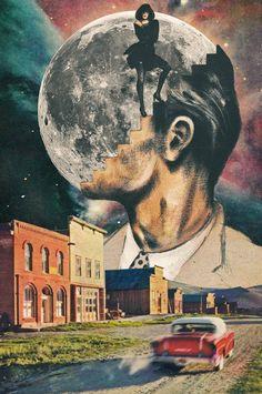 [ The Euphoria Of Seventh Heaven Art Collage ] Photomontage, Surrealist Collage, Heaven Art, Collage Art Mixed Media, Collage Collage, Pics Art, Grafik Design, Psychedelic Art, Surreal Art