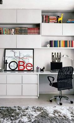 Home Office Decor. Office at home and home study style thoughts, which include tips on a smallish room, desk ideas, styles, and units. Make a workspace within your house you won't ever mind getting work finished in. 81650051 5 Home Office Decorating Ideas