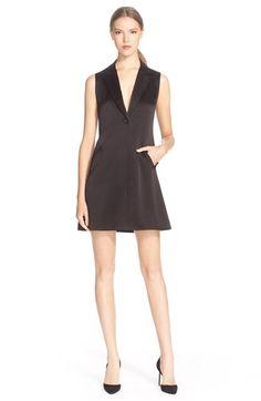 ALICE + OLIVIA 'Indiana' Tuxedo Dress. #alice+olivia #cloth #