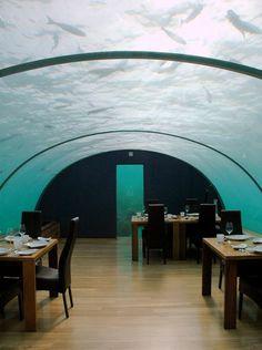 Ithaa restaurant in