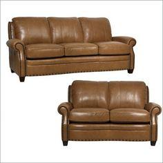 Luke Leather - Bennett Italian Leather Living Room Set - Bennett-SL