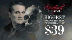 Our BIGGEST SALE of the year is happening right now! Ticket prices start at ONLY $39 | Offer includes six different plays and musicals. Don't miss out on this 24 hour sale! Stratford Festival, Plays, Ticket, Musicals, Drama, Shit Happens, This Or That Questions, Games, Dramas