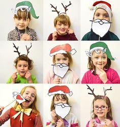 DiY : accessoires pour photobooth de Noël