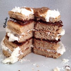 Ripped Recipes - Gingerbread Pancakes - Pretty sure pure magic made these pancakes so fluffy.