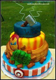 Avengers Cake  By Icingtopsthecake CakesDecorcom Decorating