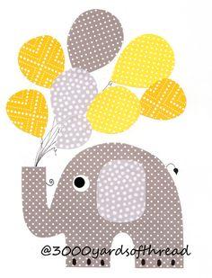 Kostenlose Applikationsvorlage Elefant Von Knuddelmama De