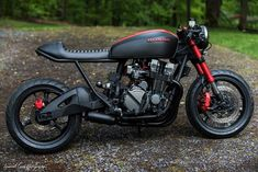 """7,992 Likes, 30 Comments - CAFE RACER caferacergram (@caferacergram) on Instagram: """" by CAFE RACER   TAG: #caferacergram   'Project Scorpion' Honda CB750 by @industrial_moto   Photo…"""""""