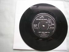"RAY CHARLES I Can't Stop Loving You UK 7"" vinyl single 1962 ex minus"