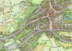 Sue Prince Map of Ashbourne