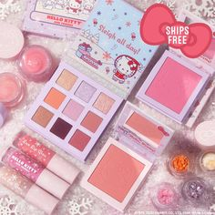 Blushes, Best Eyeshadow Palette, Full Makeup, Makeup Kit, Snow Much Fun, Makeup News, Peppermint Cookies, Lip Hydration, Hello Kitty Collection