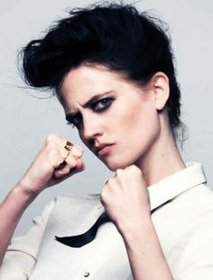 Eva Green. She kicked major ass in 300: Rise of an Empire