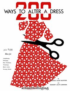 1948 200 Ways to Alter Dress Vintage Sewing by schmetterlingtag, $17.99
