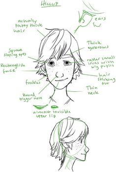 How to draw Hiccup