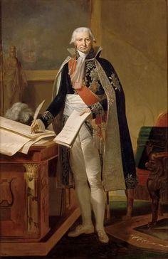 Théodore Rousseau - Portrait de Jean Baptiste de Nompère de Champagny