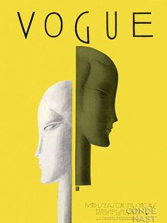 Vogue cover - February 16-1929