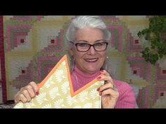 Learn How to Bind a Quilt with Sharp Inner and Outer Points - TheQuiltShow.com