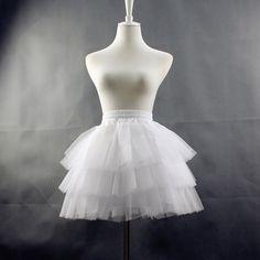 Aro de La Enagua Mini Falda del tutú De Gasa Ninguno Femaile ocasional Coreano Corto Lolita Hoopless Underskirt Enagua falda saias femininas