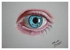 Blue eye DISEGNO da marcellobarenghi (immagine di stampa)
